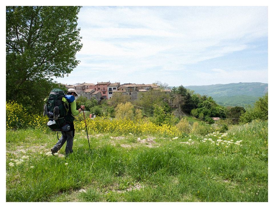 Antonio Meccanici in cammino